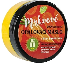 Düfte, Parfümerie und Kosmetik Bräunungsbutter mit Beta-Carotin - Vivaco Bio Carrot Suntan Butter
