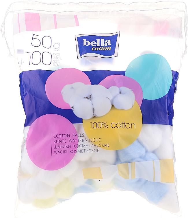 Bunte Wattebäusche 100 St. - Bella Cotton Balls — Bild N1