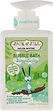 Düfte, Parfümerie und Kosmetik Beruhigendes Schaumbad für Kinder ohne Geruch - Jack N' Jill Bubble Bath Simplicity