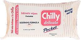 Düfte, Parfümerie und Kosmetik Beruhigende Intim-Pflegetücher 12 St. - Chilly Gel Delicate Intimate Wipes