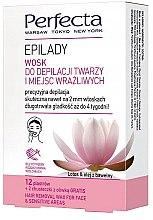 Düfte, Parfümerie und Kosmetik Enthaarungswachsstreifen für das Gesicht und empfindliche Zonen - Perfecta Epilady