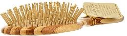 Bambus-Haarbürste oval - Olivia Garden Healthy Hair Oval Vent Epoxy Eco-Friendly Bamboo Brush — Bild N2