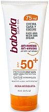 Düfte, Parfümerie und Kosmetik Anti-Falten Sonnenschutzcreme für Gesicht und Hals SPF 50+ - Babaria Face and Neck Sun Cream Spf 50