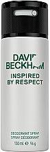Düfte, Parfümerie und Kosmetik David Beckham Inspired by Respect - Deospray