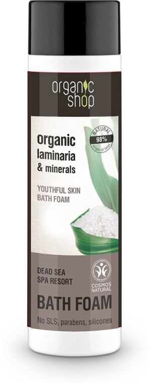 Badeschaum mit Bio Laminarien und Mineralien - Organic Shop Organic Laminaria and Minerals Dead Sea Bath Foam — Bild N1