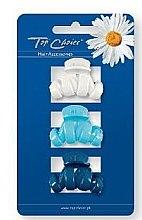 Düfte, Parfümerie und Kosmetik Haarkrebse 24115 weiß, hellblau, blau 3 St. - Top Choice