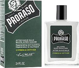 Düfte, Parfümerie und Kosmetik After Shave Balsam - Proraso Cypress & Vetiver After Shave Balm