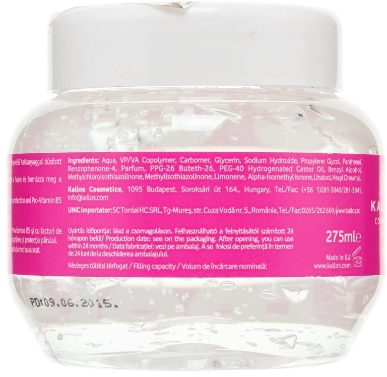 Haargel mit Nasseffekt - Kallos Cosmetics Wet Look Styling Gel  — Bild N2
