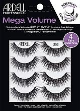 Düfte, Parfümerie und Kosmetik Künstliche Wimpern - Ardell Mega Volume 252