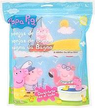 Düfte, Parfümerie und Kosmetik Kinder-Badeschwamm-Set Peppa Pig 3 St. Meer - Suavipiel Peppa Pig Bath Sponge