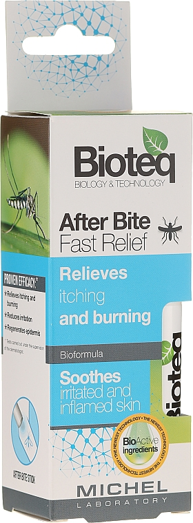 Beruhigender Körperbalsam gegen Insektenstiche - Bioteq After Bite Fast Relief