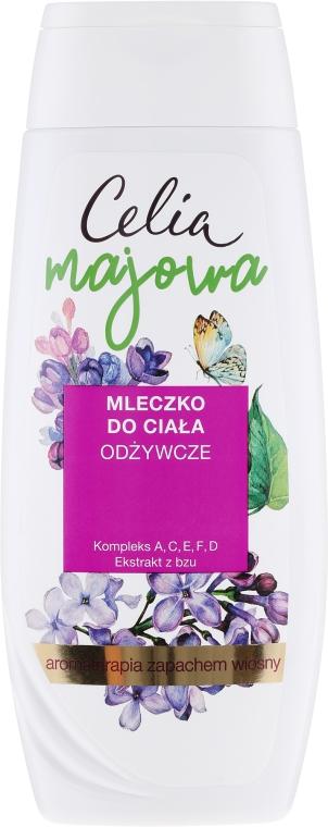 Nährende Körperlotion mit Flieder-Extrakt - Celia Majowa