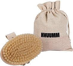 Düfte, Parfümerie und Kosmetik Bade- und Massagebürste mit weichen Fasern hellbraun - Hhuumm № 3