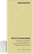 Düfte, Parfümerie und Kosmetik Glättende Haarspülung mit Kakaobutter - Kevin.Murphy Smooth Again Rinse Conditioner For Thick Hair