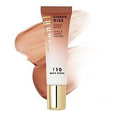 Düfte, Parfümerie und Kosmetik Flüssiges Gesichtsrouge - Milani Cheek Kiss Liquid Blush