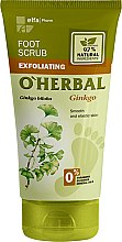 Düfte, Parfümerie und Kosmetik Fußpeeling mit Ginkgo Bioloba - O'Herbal Foot Scrub