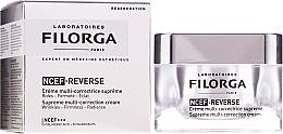 Düfte, Parfümerie und Kosmetik Regenerierende Anti-Aging Gesichtscreme mit Hyaluronsäure und Kollagen - Filorga NCTF-Reverse Supreme Regenerating Cream