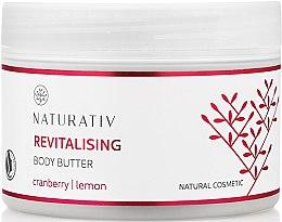 Revitalisierende Körperbutter mit Zitronen- und Cranberryextrakt - Naturativ Revitalizing Body Butter — Bild N1