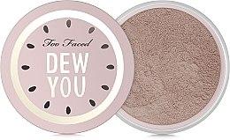 Düfte, Parfümerie und Kosmetik Gesichtspuder mit Wassermelone- und Gurkenduft - Too Faced Dew You Fresh Glow Translucent Setting Powder