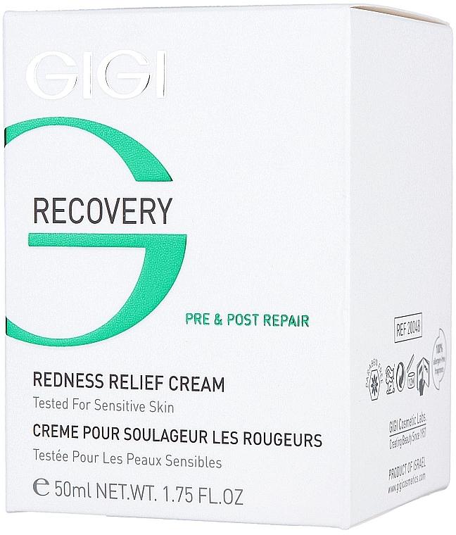 Beruhigende und pflegende Gesichtscreme gegen Rötungen und Reizungen - Gigi Recovery Redness Relief Creme — Bild N3