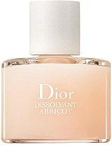 Düfte, Parfümerie und Kosmetik Nagellackentferner - Christian Dior Dissolvant Abricot Gentle Polish Remover