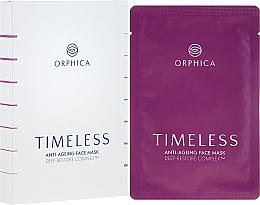 Düfte, Parfümerie und Kosmetik Regenerierende Anti-Aging Gesichtsmaske (4St.) - Orphica Timeless Anti-Ageing Face Mask