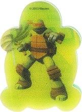 Düfte, Parfümerie und Kosmetik Kinder-Badeschwamm Die Ninja Turtles Michelangelo 5 - Suavipiel Turtles Bath Sponge
