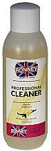 Düfte, Parfümerie und Kosmetik Nagelentfeuchter Vanille - Ronney Professional Nail Cleaner Vanilia