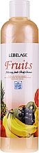 Düfte, Parfümerie und Kosmetik Entspannendes Duschgel mit Fruchtextrakten - Lebelage Relaxing Fruits Body Cleanser