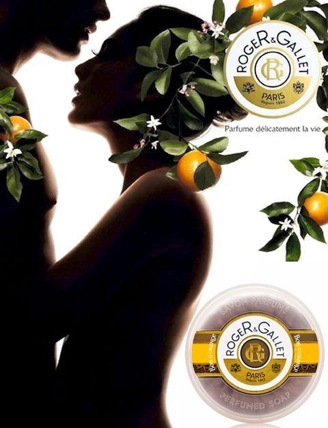 Seifenset Orangenbaum - Roger & Gallet Bois D'Orange Perfumed Soaps (Seife 3x100g) — Bild N3