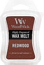 Düfte, Parfümerie und Kosmetik Tart-Duftwachs Redwood - WoodWick Wax Melt Redwood