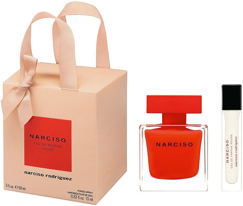 Narciso Rodriguez Narciso Rouge - Duftset (Eau de Parfum 90ml + Eau de Parfum Mini 10ml)