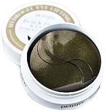 Düfte, Parfümerie und Kosmetik Hydrogel-Augenpatches mit Gold und schwarzen Perlen - Petitfee & Koelf Black Pearl&Gold Hydrogel Eye Patch