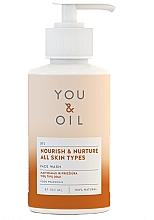 Düfte, Parfümerie und Kosmetik Nährendes und feuchtigkeitsspendendes Gesichtswaschmittel - You & Oil Nourish & Nurture Face Wash