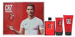 Düfte, Parfümerie und Kosmetik Cristiano Ronaldo CR7 - Duftset (Eau de Toilette/100m+Duschgel/150ml+After Shave Balsam/100ml)