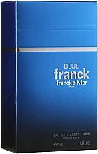 Düfte, Parfümerie und Kosmetik Franck Olivier Franck Blue - Eau de Toilette