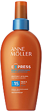Düfte, Parfümerie und Kosmetik Sonnenschutzmilch SPF 15 - Anne Moller Express Sunscreen Body Spray SPF 15