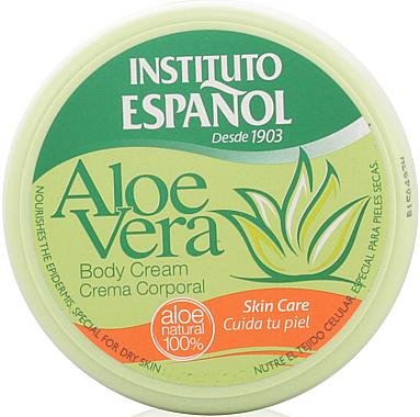Pflegende Körpercreme für trockene Haut mit Aloe Vera - Instituto Espanol Aloe Vera Body Cream