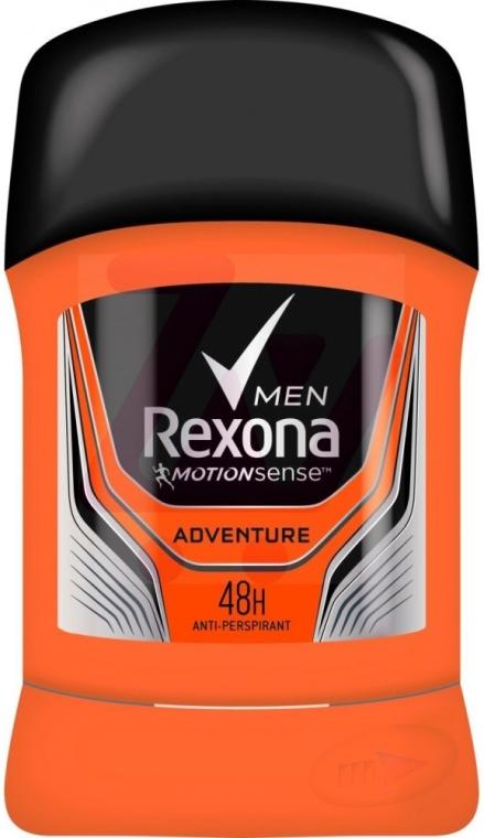 "Antiperspirant Deodorant Stick für Männer ""Adventure"" - Rexona Deodorant Stick — Bild N1"