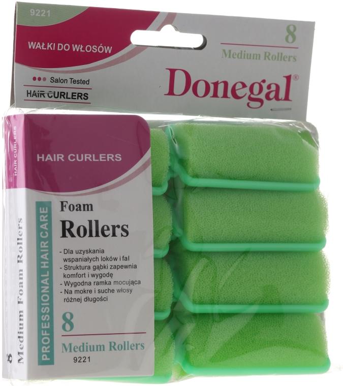 Schaumstoffwickler 25 mm 8 St. - Donegal Sponge Curlers
