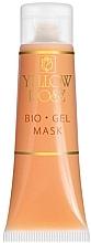 Düfte, Parfümerie und Kosmetik Feuchtigkeitsspendende und revitalisierende Bio Gel-Maske für das Gesicht - Yellow Rose Bio Gel Mask