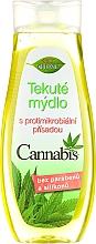 Düfte, Parfümerie und Kosmetik Flüssige Handseife Cannabis - Bione Cosmetics Cannabis Liquid Hand Wash With Germicidal Ingredient