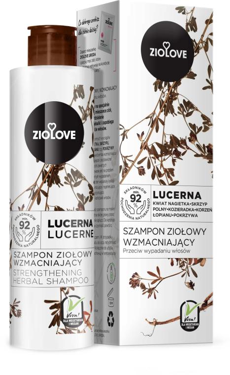 Stärkendes Kräutershampoo gegen Haarausfall mit Alfalfa Extrakt - Ziolove