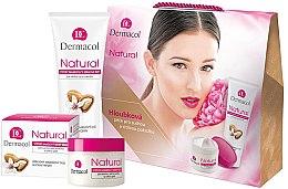 Düfte, Parfümerie und Kosmetik Körperpflegeset - Dermacol Natural Set (Gesichtscreme 50ml + Handcreme 100ml)