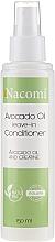 Düfte, Parfümerie und Kosmetik Conditioner mit Avocadoöl und Keratin ohne Ausspülen - Nacomi Natural Avocado Oil And Keratin Hair Conditioner