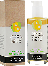 Düfte, Parfümerie und Kosmetik Körper- und Massageöl Zitrone Zirbelkiefer - Sonnet Citrus Massage Oil