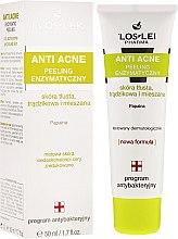 Düfte, Parfümerie und Kosmetik Enzymatisches Anti-Akne Gesichtspeeling für fettige und Mischhaut - Floslek Anti Acne Peeling