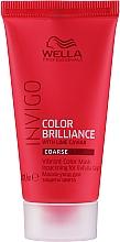 Düfte, Parfümerie und Kosmetik Haarmaske für coloriertes und wiederspenstiges Haar mit Limettenkaviar - Wella Professionals Invigo Color Brilliance Vibrant Color Mask Coarse