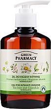 Düfte, Parfümerie und Kosmetik Gel für die Intimhygiene mit Extrakt aus Teebaum und Ringelblume - Green Pharmacy