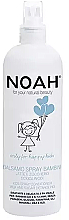 Düfte, Parfümerie und Kosmetik Entwirrendes Haarspülung-Spray für Kinder mit Milch und Zucker - Noah Kids Spray conditioner milk & sugar detangling